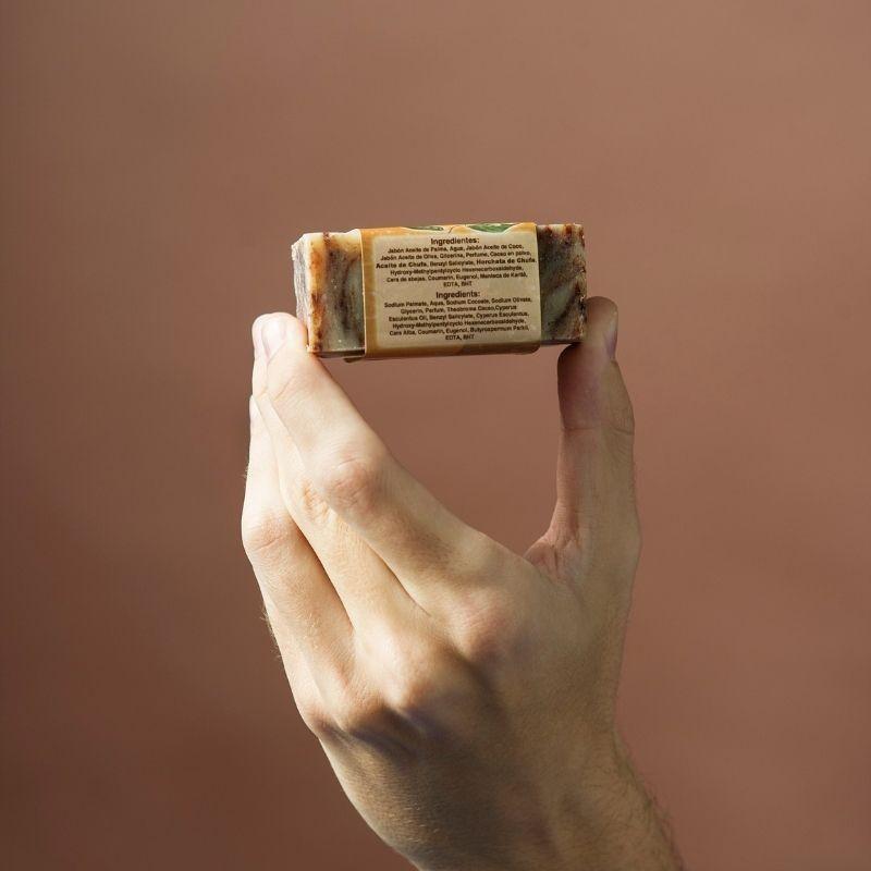 Jabón Natural de Horchata Chocolate de Aceite de Chufa Ecológica Món Orxata - Ingredientes