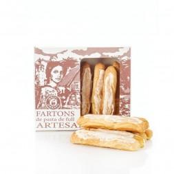 Caja de Fartons Artesanos - Horchata y fartons envase