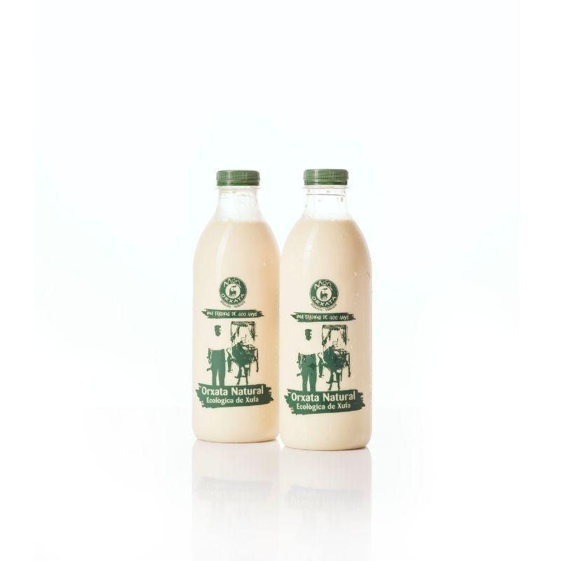 Horchata artesana de chufa ecológica D.O. - envase