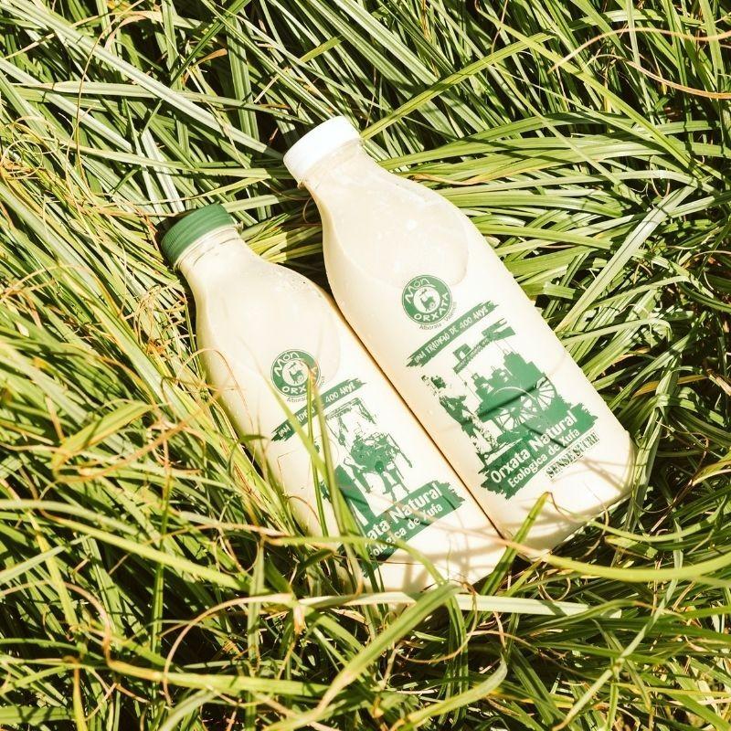 2l horchata ecológica artesana D.O. - con y sin azúcar hierba