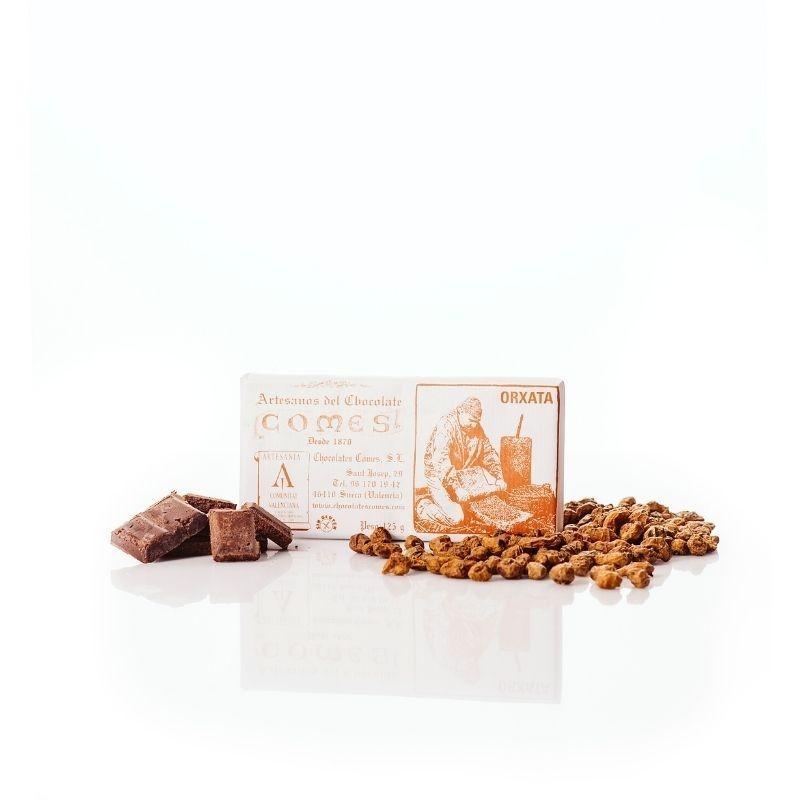 Chocolate con chufa ecológica - choco y chufa