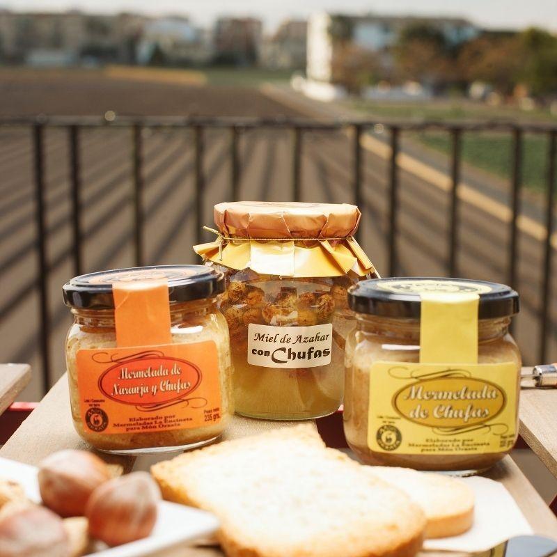 Mermelada naranja - chufa y miel