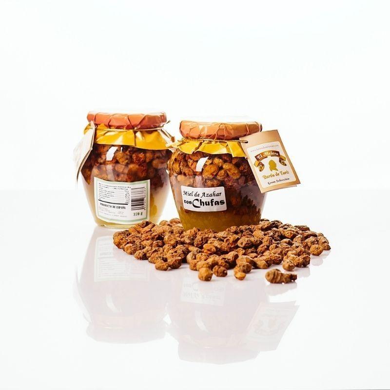 Miel de Azahar con Chufas - ingredientes