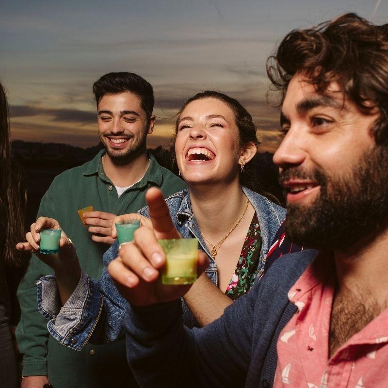 Licor Valenciano de Horchata 10 cl - chiste