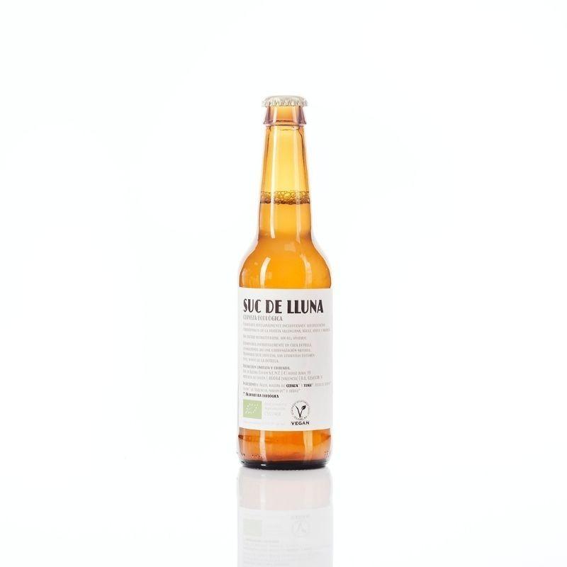 Botellín Cerveza Ecológica Valenciana Suc de Lluna - envase