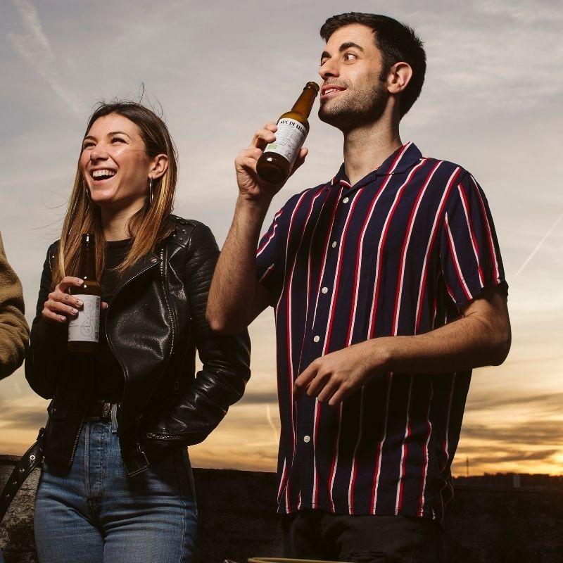 Botellín Cerveza Ecológica Valenciana Suc de Lluna - grupo