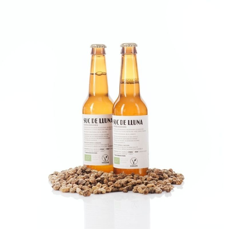Pack 2 Cervezas Ecológicas Valencianas Suc de Lluna - envases