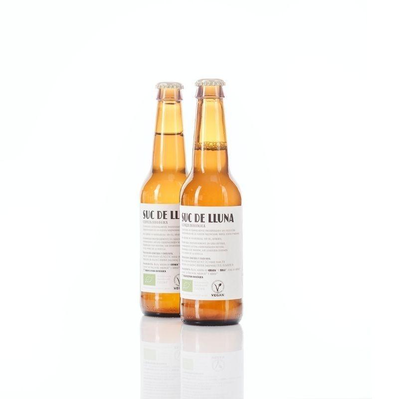 Pack 2 Cervezas Ecológicas Valencianas Suc de Lluna - ingredientes