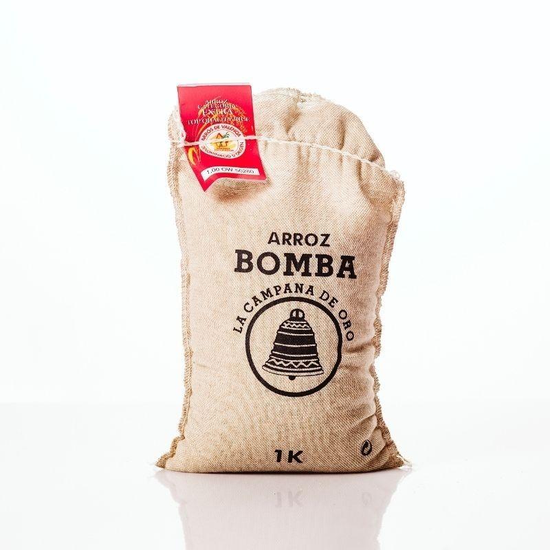 Arroz Bomba La Campana de Oro D.O. 1Kg -  detalle