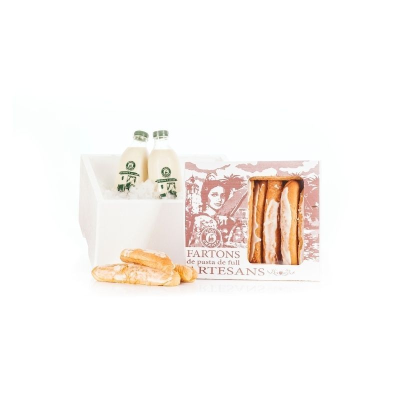 2l Horchata BIO + 1 Caja Fartons Artesanos