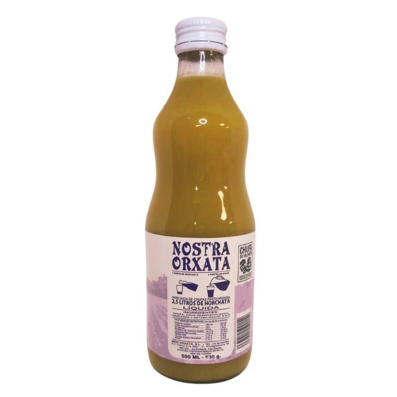 500 ml Horchata Concentrada Nostra Orxata de Chufa D.O. - ingredientes